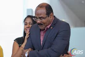 PRIME MINISTER OF ANTIGUA, GASTON BROWNE'S REPLY ABOUT HIS